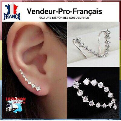 Femmes élégante Bow chat cristal strass oreille Stud boucles d/'oreilles bijoux r