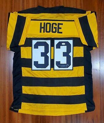 Merril Hoge Signed Autographed Bumblebee Jersey Pittsburgh Steelers JSA | eBay