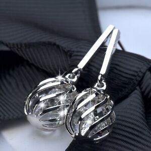 18k-white-gold-gf-made-with-SWAROVSKI-crystal-ball-filigree-stud-dangle-earrings