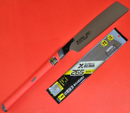 Japanese single edged KATABA X-BEAM wood saw 265mm 1 SPARE BLADE scie Japon