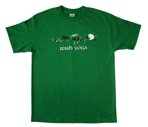 Irish Yoga FUNNY T SHIRT t shirt M,L,XL,2XL Brand New !! Very Nice