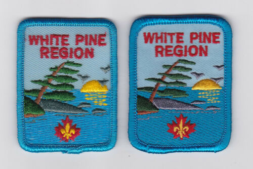 SCOUT OF CANADA CANADIAN SCOUTS ONTARIO ONT WHITE PINE REGION Patch
