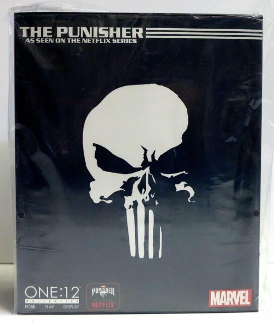 In STOCK Mezco One 12 Marvel Comics Netflix The Punisher Action Figure