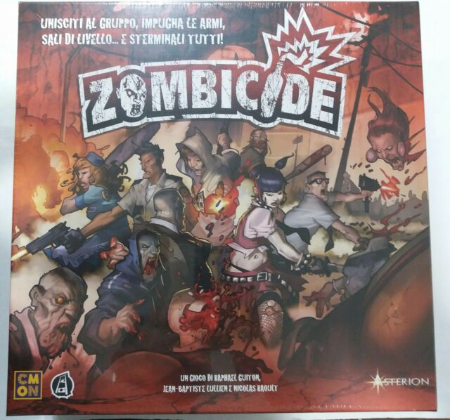 GDT Boardgame Gioco Tavolo - Zombicide - Asterion - ITALIANO NUOVO
