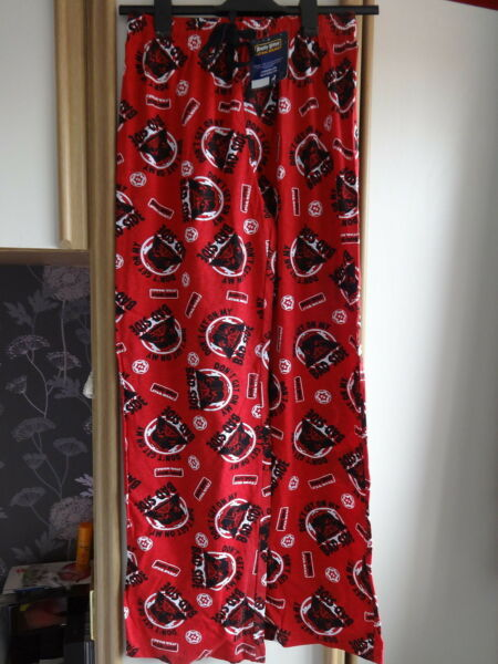 Aimable #g12 - Red Star Wars Angry Birds Lounge Pants De F&f - Taille S-bnwt