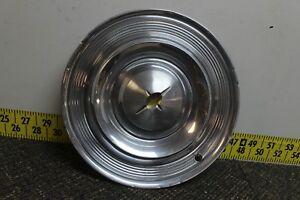 "OEM Oldsmobile Single 14"" Hub Cap Wheel Cover Gold Ctr OE57WC 1957 Starfire(606)"