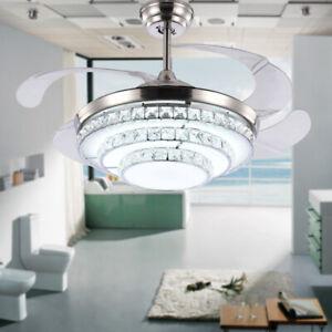 42-034-Retractable-Ceiling-Fan-Light-Crystal-LED-Chandelier-Remote-Control-3-Color