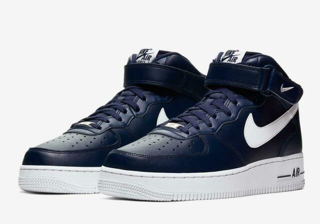 Nike Black Wmns Air Force 1 Mid 07 001 For Sale Online Ebay