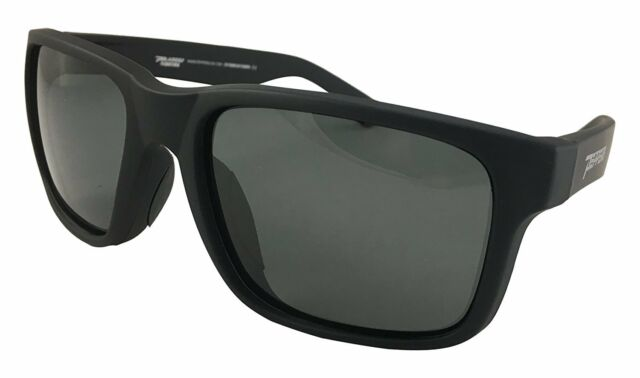 0a17e84c5a New Peppers Beachcomber Polarized Sunglasses Rubberized Matte Black withG15  Lens
