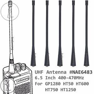 5x UHF Antennas For motorola GP350 HT750 EP350 EP450 CP200 GP1280 Portable