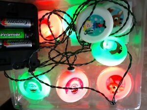 Musical Christmas Lights.Rudolph The Red Nosed Reindeer 8 Color Blinking Lights