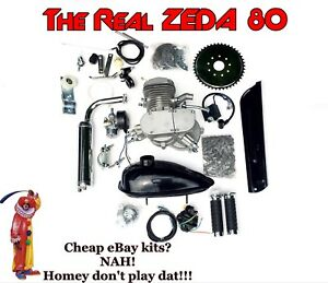 ZEDA-80-silver-66-80cc-Bicycle-Engine-Kit-for-Motorized-Bicycle