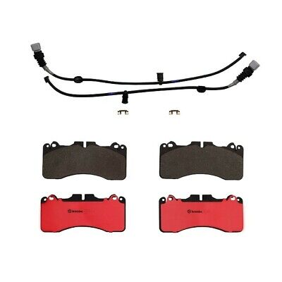 Front and Rear Brembo Brake Pads Set Kit For Lexus LS460 F Sport 2010-17