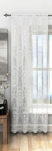 VICTORIAN-VINTAGE-SHABBY-CHIC-WHITE-LUXURY-LACE-NET-SCALLOP-CURTAIN-PANEL-S