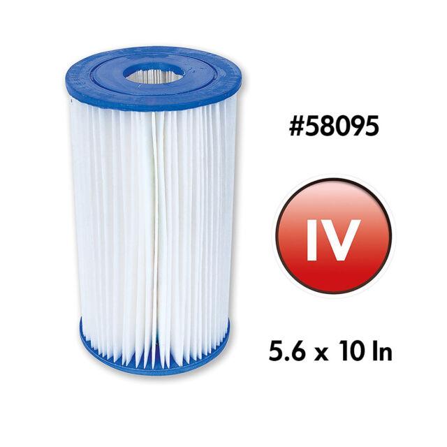 1x Ersatzfilter Filterkartusche für Poolpumpe 58095 Bestway Typ IV
