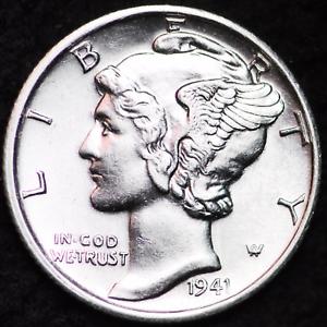 1941-S-AU-MERCURY-DIME-SAN-FRANCISCO-MINT-ALMOST-UNCIRCULATED-90-SILVER-COIN