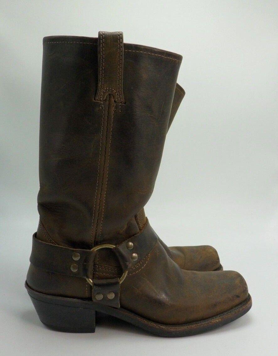 prezzo basso Frye Donna  Tan Tan Tan Marrone Harness stivali Made In USA 7  la migliore selezione di
