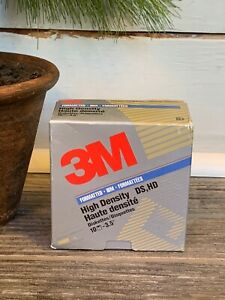 3M-3-5-034-High-Density-DS-HD-Diskettes-Box-of-10-Floppy-Disk-Open-Box