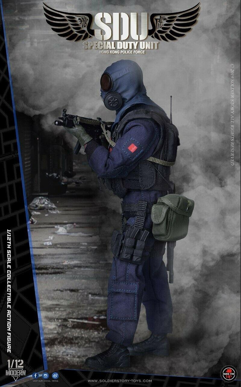Pre-order 1//12 Soldier Story HK SDU Assault Team SSM-002 SSM-003