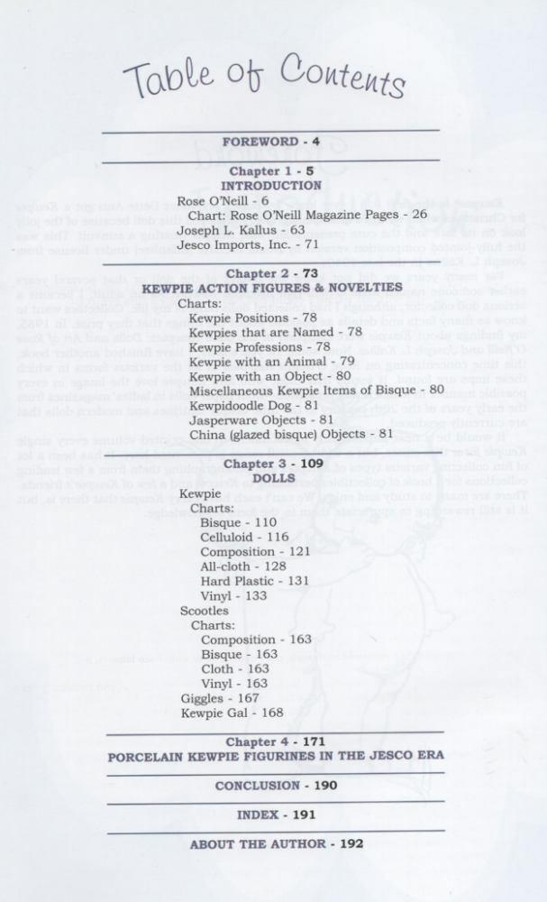 KEWPIE FOR COLLECTORS Axe 0875886663 (Kewpie Rosa O'Neill Giggles Scootles Scootles Scootles 29b10c