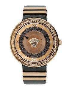 范思哲女式 V-金屬 圖標手表 velc 00318