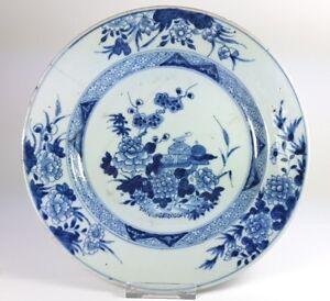 Alter Teller China Keramik Um 1780-1800 Al555