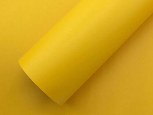 Matt Vinyl Wrap Sheet Roll Sticker Air//Bubble Free All Colours 1.52m×0.3m