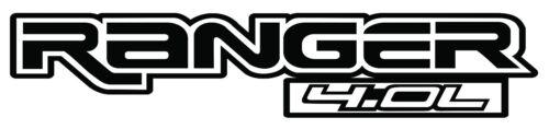 FORD RANGER 4.0L VINYL DECALS 2 PKG