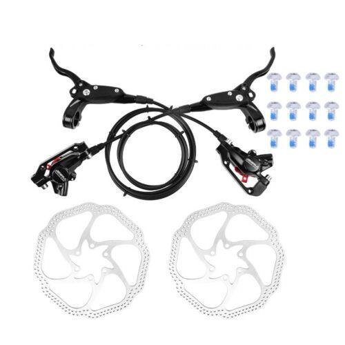 Mountainbike Hydraulische Scheibenbremsen Set Vorne und Hinten Fahrrad Öl X6K6 1