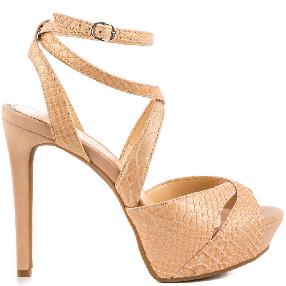 Para mujeres Zapatos Plataforma Tacones Sandalias Sandalias Sandalias de Jessica Simpson Finlay en Polvo Desnuda Serpiente  tiendas minoristas