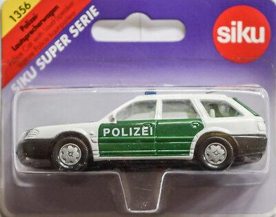 OVP 5601-31 AUDI a6 Avant Siku 1356 Polizia Auto Altoparlante