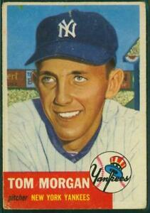1953-Topps-Card-132-Tom-Morgan-New-York-Yankees