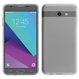 Détails sur Housse Etui Coque Gel UltraSlim TRANSPARENT pour Samsung Galaxy  J7 V J727V