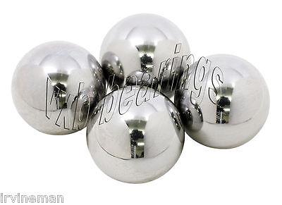 """1 1//2/"""" inch Diameter Chrome Steel Bearing Balls G24 Pack Ball Bearings 8606 4"""