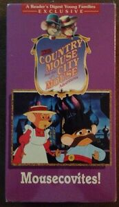 Readers-Digest-The-Country-Mouse-And-The-City-Mouse-NEW-SEALED-VHS