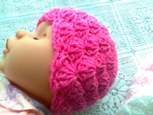Patrón de Ganchillo para Bebé Beanie Y Botitas De Concha TJC11