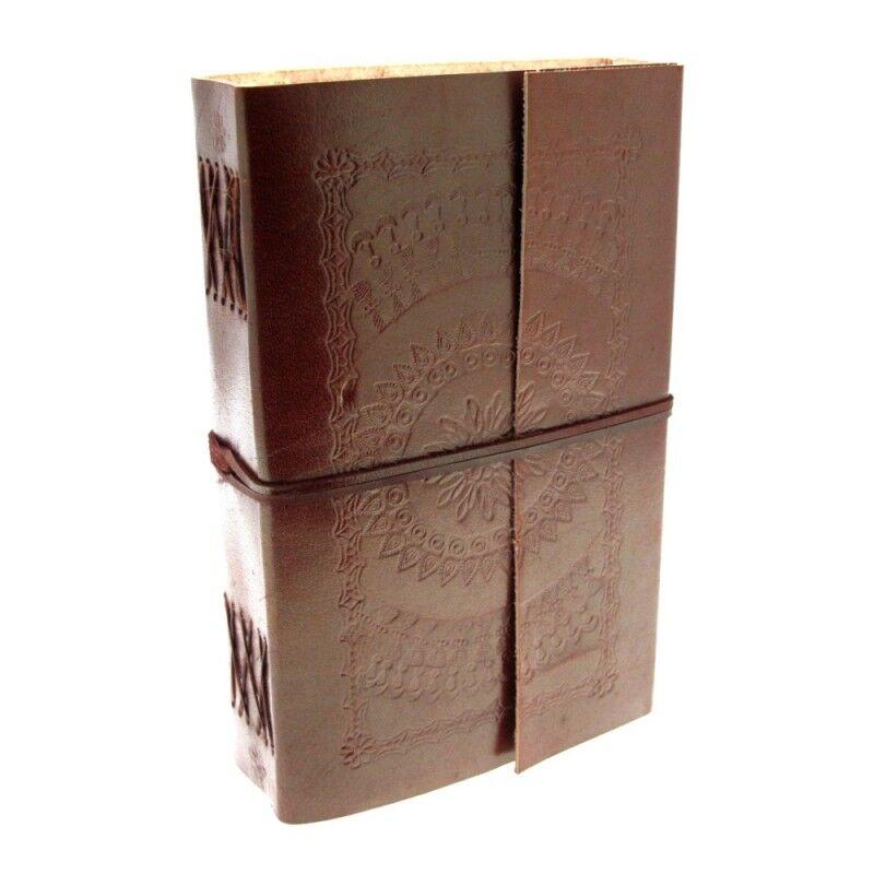 Fair Trade handgemacht extragroß geprägt Leder Tagebuch Notizbuch Tagebuch | Die erste Reihe von umfassenden Spezifikationen für Kunden