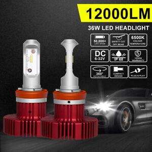 Led Headlights Vs Hid >> 200w H11 Led Headlight Bulbs Conversion Kit Low Beam Truck