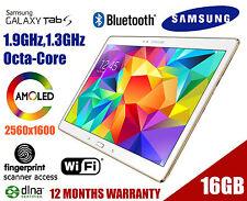 "Samsung Galaxy Tab S SM-T805Y 10.5"" WiFi + 4G 16GB Unlocked White SM-T805YZWAXSA"