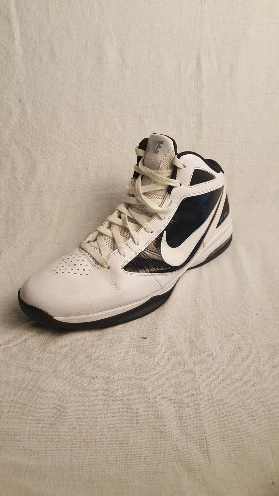 Men's Nike Zoom Hyperdunk 2011 TB White/Black 454140-100 (Size:13.5)