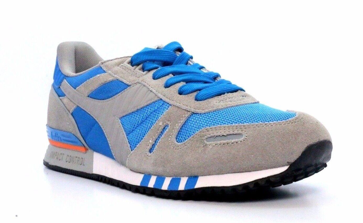 DIADORA 158623-C5929 TITAN II Mn's (M) bluee Grey Nylon Suede Lifestyle shoes