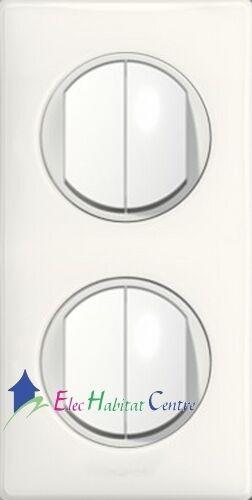 Double double va et vient Céliane yesterday blanc 67001x4+68002x2+80252+66632