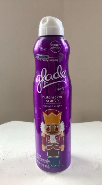 2 Pack Glade Winter Collection Candle Nutcracker Crunch Walnut /& Mocha 4oz