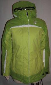 Retail Ski 000mm Volatile Jacket White Women 10 275 Spyder 5 Størrelse Green wIqxUvaAB