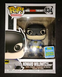 Funko-pop-Howard-wolowitz-as-batman-834-Big-Bang-theory-sdcc-2019-LE-protection