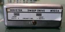 Tested Wavetek M102a Sweep Drive Module For 2002a Signal Generators