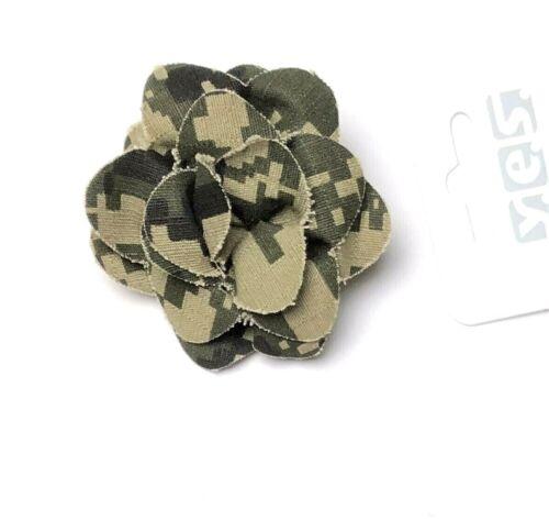 Haarklammer Haarspange Haarclip Innenzahnung Blume Camouflage Durchmesser 6,5 cm