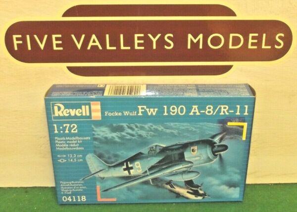 080719/01 Revell 04118 Focke Wulf Fw 190 A-8/r-11 échelle 1:72