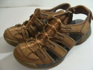 63aa092a0c6 Image is loading PRIVO-by-CLARKS-Brown-Sport-Sandals-Walking-Water-