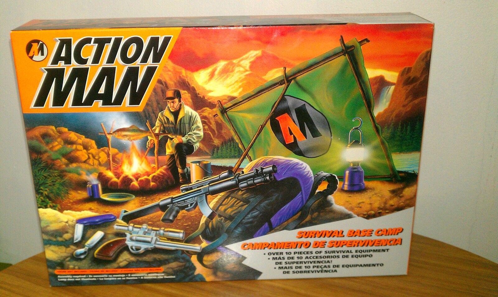 Action Man Survival Base Camp 1994 Hasbro  Euroean Exclusive NEW
